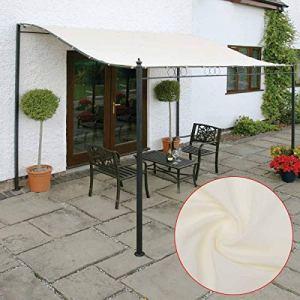 BIMUS 1pc 3×3 / 2,6M 300D Toile Tente imperméable Pare-Soleil Abri Tissu extérieur Tente Haut Toit Couverture Auvent Fournitures d'outils de Jardin (Couleur : 2.6×2.5)