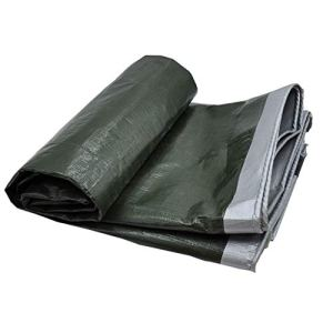 HQQSC Tarpauline imperméable, PVC Lumière Crammine cramponnée Toile de Crampon de carport en Plein air Tarpaulin de Jardin de pêche hamac de Pluie Tentes (Color : 3X3M)