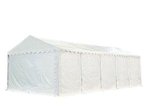 Hangar tente de stockage 5 x 10 m ignifuge d'élevage de 2,60m de hauteur blanc épaisses de 500g/m² PVC imperméables