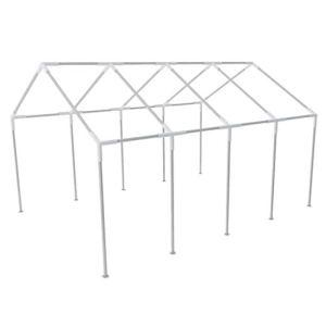 Zora Walter Structure en Acier pour tonnelle de fête 8 x 4 m Accessoires pour Pavillons et tonnelles