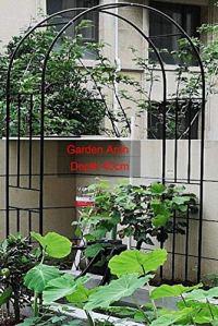 CDFCB Poids léger Jardin Arches et Arbres Grand Arbor Trelis Archway pour Plantes d'escalade Décoration de Festival en Plein air 120x240cm / 4x8ft 240x240cm / 8x8ft Noir-300x240cm / 10x8ft_Noir