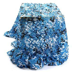 QI-CHE-YI Net de Camouflage, utilisé pour l'auvent de Jardin, la pergola extérieure, Le belvédère, Le Filet de Camouflage Bleu Marin,5x10m