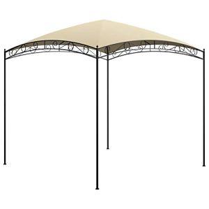 Tidyard Belvédère de Jardin Tente de Jardin Garden Pavillon 3x3x2,65 m Crème 180 g/m²
