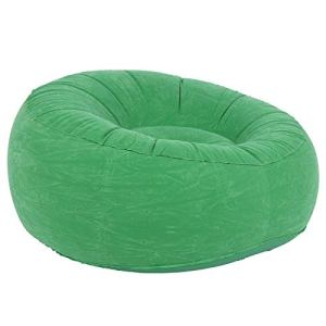 Canapé Gonflable, Flocking et PVC Fabriqué Un Maximum de Confort 100x100x555cm Lounger Air Sofa pour Salon Balcon Garden