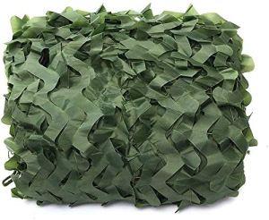Filet De Protection Solaire, Filet de Décoration de Tente, Camouflage Net Shade Net Cover, Couverture De Poussière Respirante, Utilisée Pour Le Filet De Camouflage En Verdure Des Bois, Une(Size:3x3M)