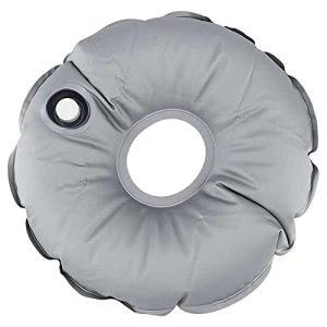 Gmasuber Sac de poids pliable avec base de drapeau – Sac de poids pliable portable et rond – Pour l'extérieur – Avec base de drapeau – Rempli d'eau