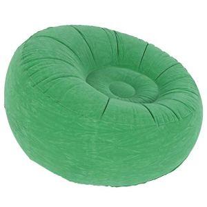 Weikeya Canapé Gonflable Doux, Chaise de canapé 100x100x555cm Comfort Maximum Chaîne de chaises air canapé avec Flocage et PVC pour Salon Balcon Jardin