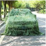 ZHEYANG Filet de Camouflage Camo Tarp Sunscreen Oxford Renforcé Net Sun Sun Sun Shade Ombres d'Isolant Tente (Couleur : A, Taille : 1.5x10m)