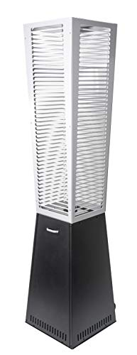 ACTIVA Chauffage de terrasse à gaz pyramide Tower 220 cm – Parasol chauffant