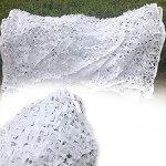 2x3m 2x4m 2x5m Filet de camouflage 3x3m 3x4m 3x5m 3x6m 5x5m 6x6m 6x8m 8x8m 8x10m Filet Camouflage blanc filet de protection solaire camping camping en vrac rouleau Camo Net ( Size : 3x3m9.8×9.8ft )