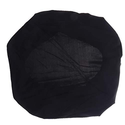 F Fityle Housse de chaise de bureau pour chaise de bureau ou fauteuil de bureau Noir