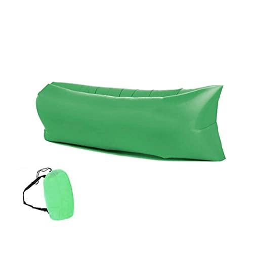 FANGPAN Camping canapé Gonflable Sac de Couchage Paresseux Sac de Couchage ultraléger en Duvet lit d'air canapé Gonflable Chaise Longue équipement de Camping