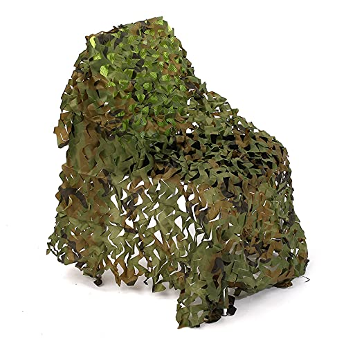 filet camouflage renforce desert filet de camouflage ombrage,abri militaire Militaire Couverture,Pour jardin, loisirs, camping, fête, bar, décoration de chasse (Size:3x6m/9.84×19.68FT,Color:Jungle)