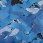 filets de camouflage millitaire filet de camouflage terrasse,bache pour pergola filet contre les insectes,pour Ombre décoration Solaire Chasse Camping Outdoor Milit(Size:3x6m/9.84×19.68FT,Color:océan)