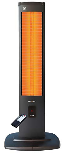 OPRANIC 2KW Radiateur Electrique Infrarouge | 2000 Watts & IP34 | Chaufferette Electrique, Chauffage Electrique Infrarouge, Chauffage Exterieur Terrasse Electrique, Parasol Chauffant Exterieur | THOR