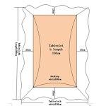 jin Housse de Table et Chaise Simple et Moderne Housse de Table et Chaise en Tissu (E,4pads+4backs+130 * 180cmcloth)