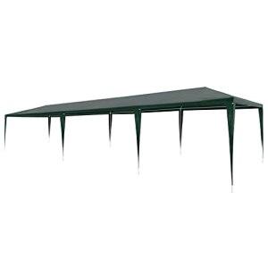 LUYIPINGQIWND Couleur : Vert Vie en extérieur Tente de réception 3 x 9 m PE Vert