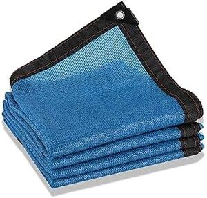 Ombre Netting Sunblock Sunblock Toile-Soleil Sun Shade 80% Bleu Sunscreen Sunscreen Toile Toilet Piscine Piscine Patio Fleurs Taille Net 23 Tailles (Couleur : Bleu, Taille : 5x10m)