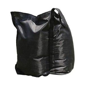 Qagazine Sac de poids de tonnelle, sac de sable Oxford imperméable pour pieds de tonnelle, parasol, tonnelle, trampoline, meubles de terrasse