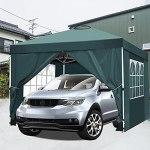 YUEBO Tonnelle 3×3 m Tonnelle Pliante imperméable avec 4 Parois Tente de Jardin Barnum Professionnel Chapiteau Pliable pour Reception Exterieur