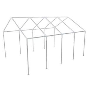 FZYHFA Structure en acier pour tonnelle de fête 8 x 4 m, structure en aluminium