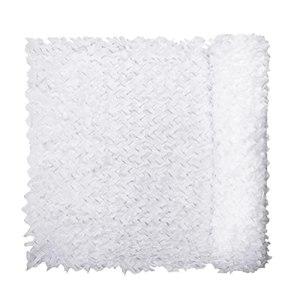 YiDD Filet de Camouflage Blanc 2x3m 2x4m 2x5m 2x6m 3x3m 3x4m 3x5m 3x6m 6x6m 6x8m 8x8m 8x10m 10x10m Filet Camouflage décoration de fête Filet d'ombrage extérieur (Size : 4x8m .12×26.24ft)