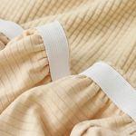 VOSAREA Housse de chaise de salle à manger extensible et lavable – Housse de protection pour la maison, le bureau, l'hôtel