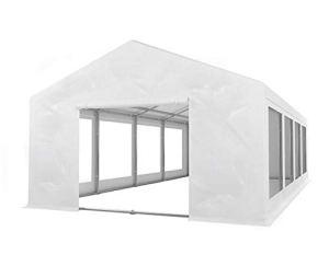 Tente de réception 4x8m en PVC 550 GR/m² retardateur de Flamme avec Armature au Sol