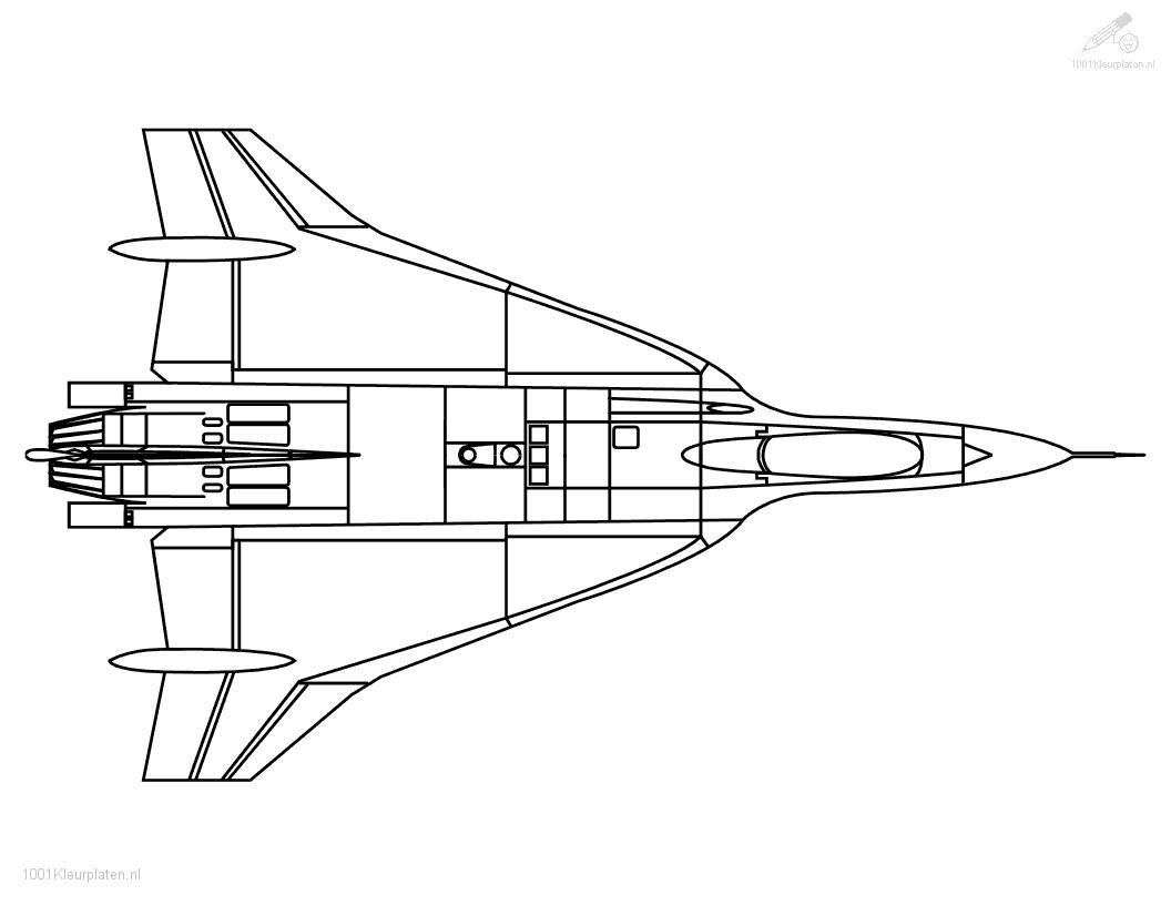 Jet Plane Coloring Coloring Pages