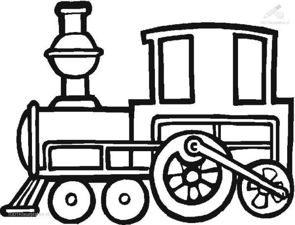 train coloring pages # 35