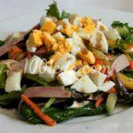 Овощной салат с тунцом и омлетом Овощные салаты от 1001