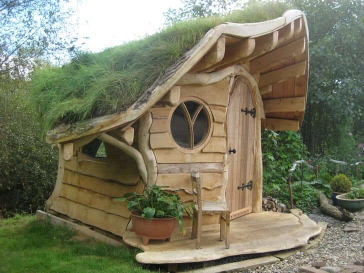 The Amazing Wee Dinky House Playhouse 1001 Gardens