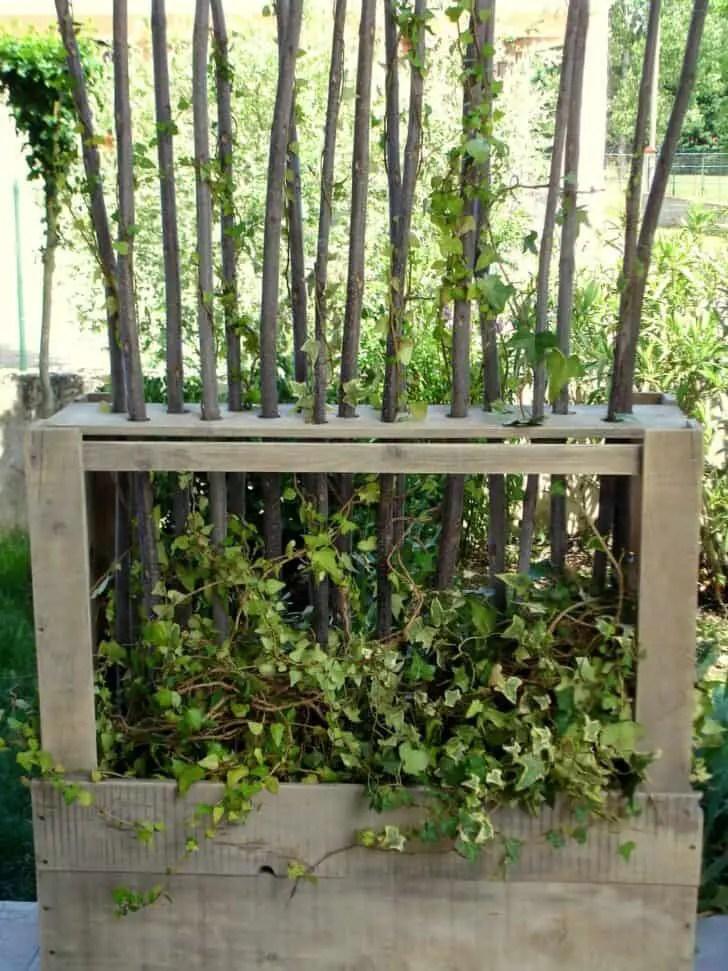 Paravent Vgtal En Bois De Palettes Upcycled Wooden