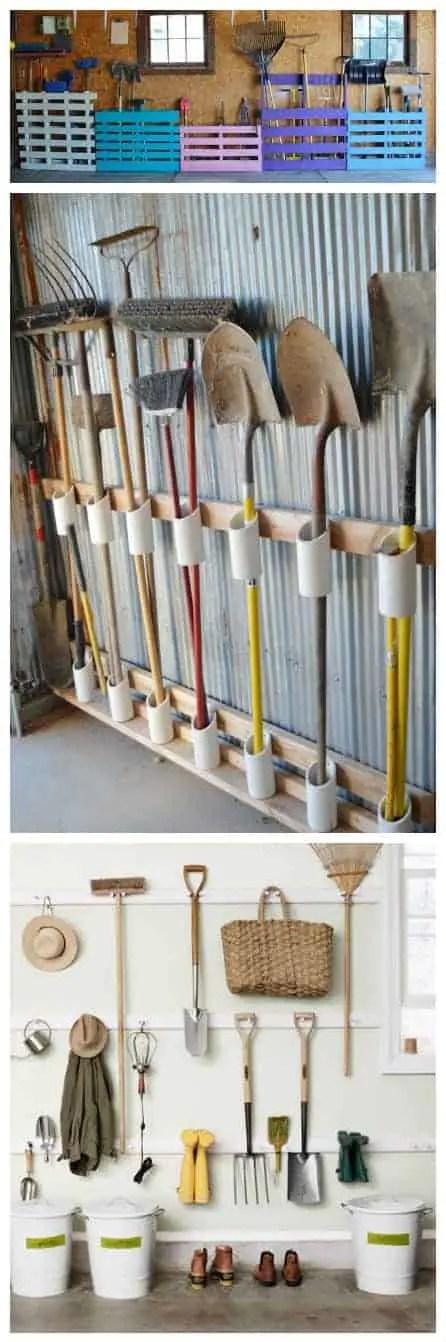 1001gardens.org 12 garden tool storage racks you can easily make