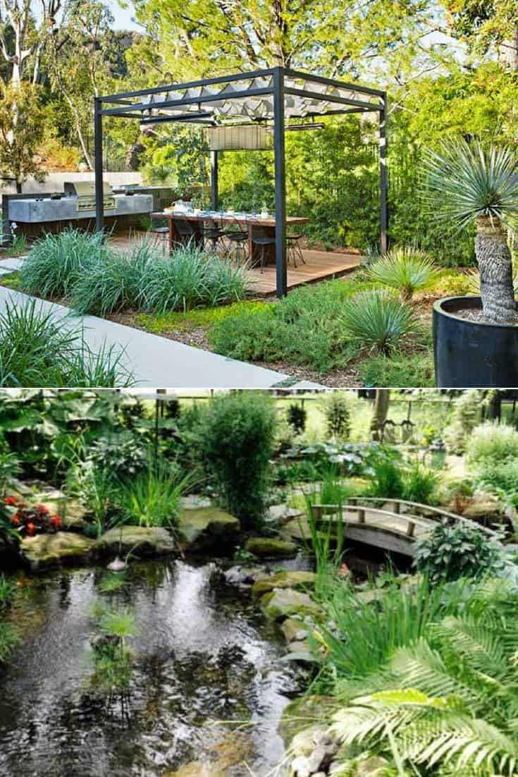 Backyard and Front Yard Landscaping Ideas - 1001 Gardens on Front Yard Patio id=50214