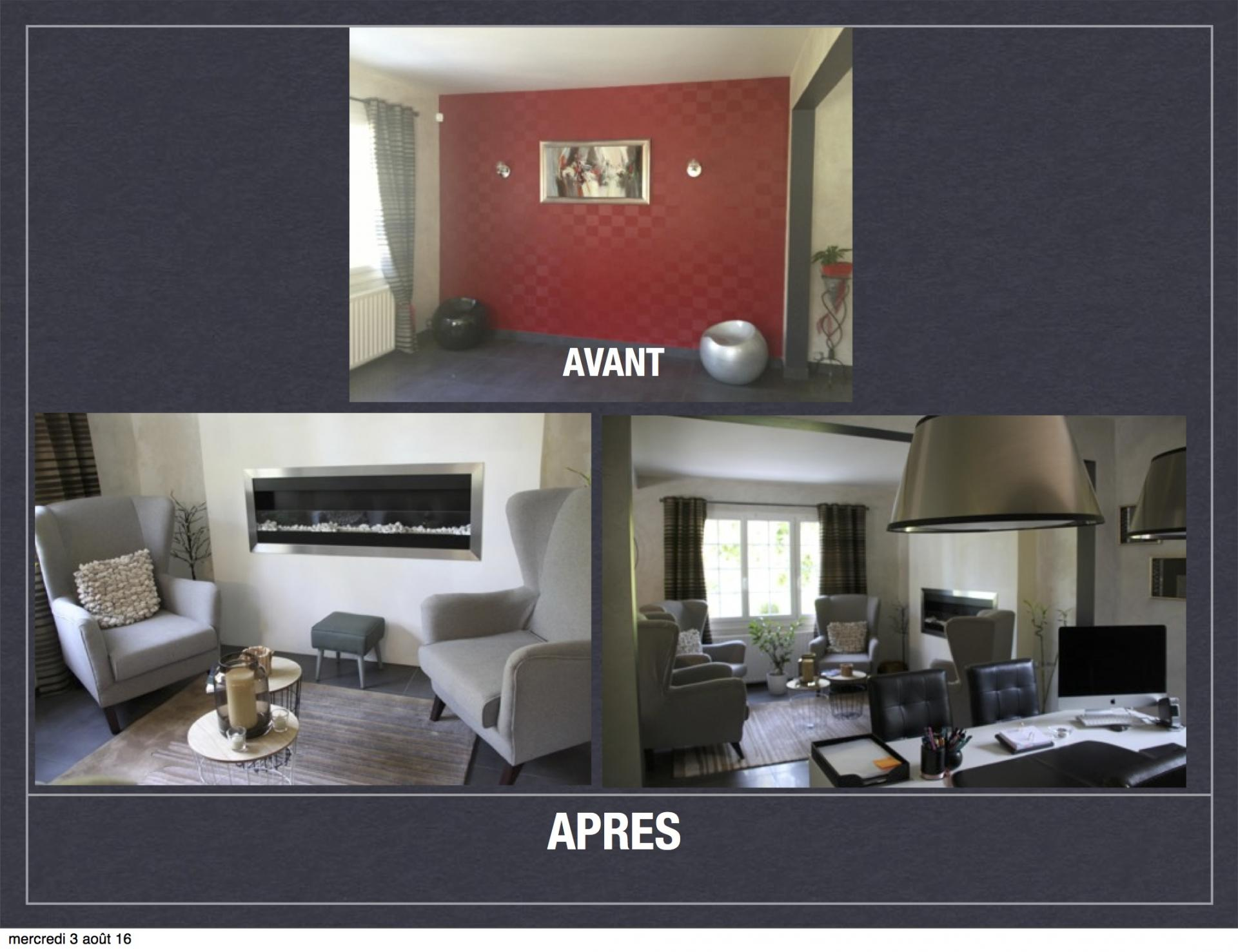 Avant Aprs Projet De Dcoration Et Damnagement Despace