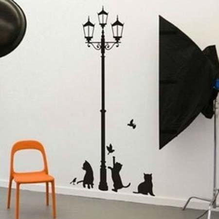 E para quem adora gatos, esta ideia é genial!