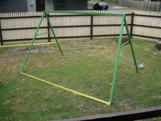 DIY-Repurposed-Swing-Set-Chicken-Coop-1