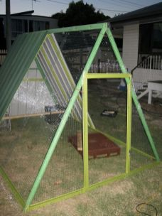 DIY-Repurposed-Swing-Set-Chicken-Coop-8