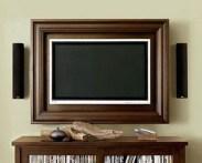 Televisão com moldura de quadro