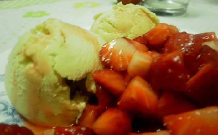 gelado de abacate