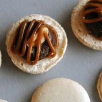 Snickers-makroner