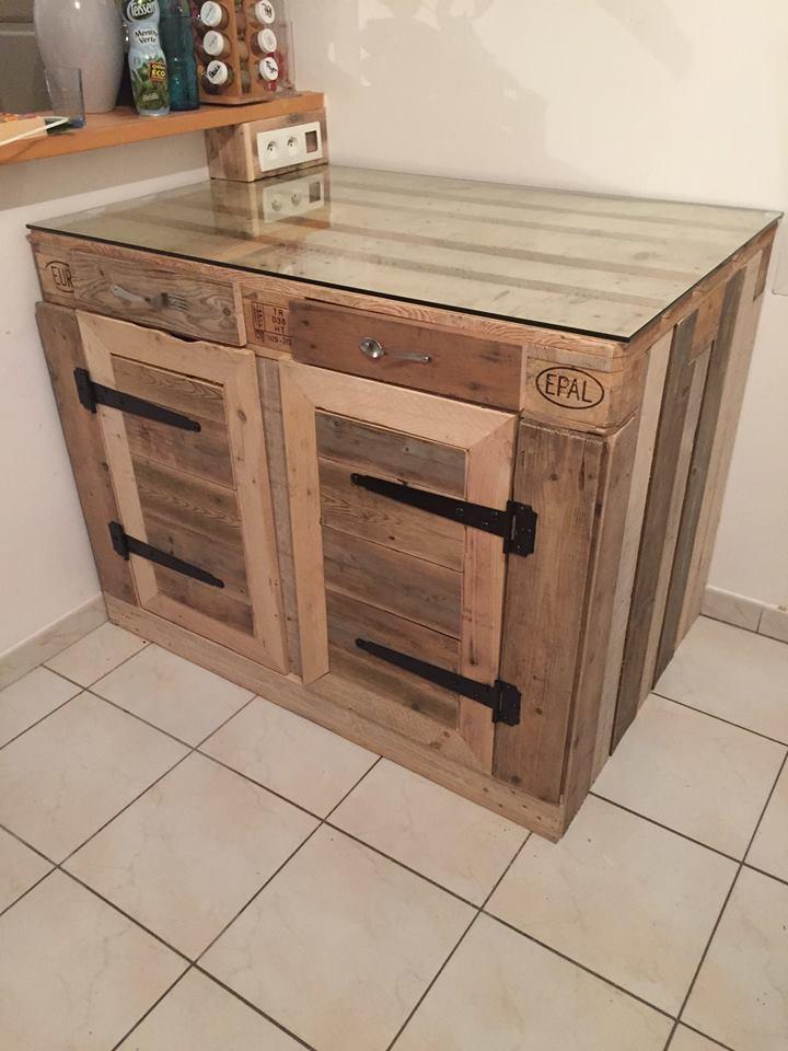 Euro Pallet Kitchen Cabinet 1001 Ideas