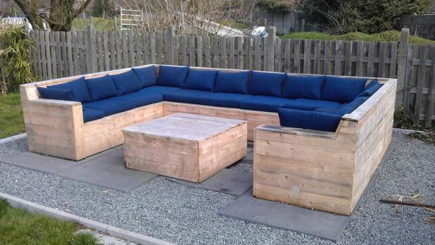 garden furniture made from crates interior design - Garden Furniture Crates