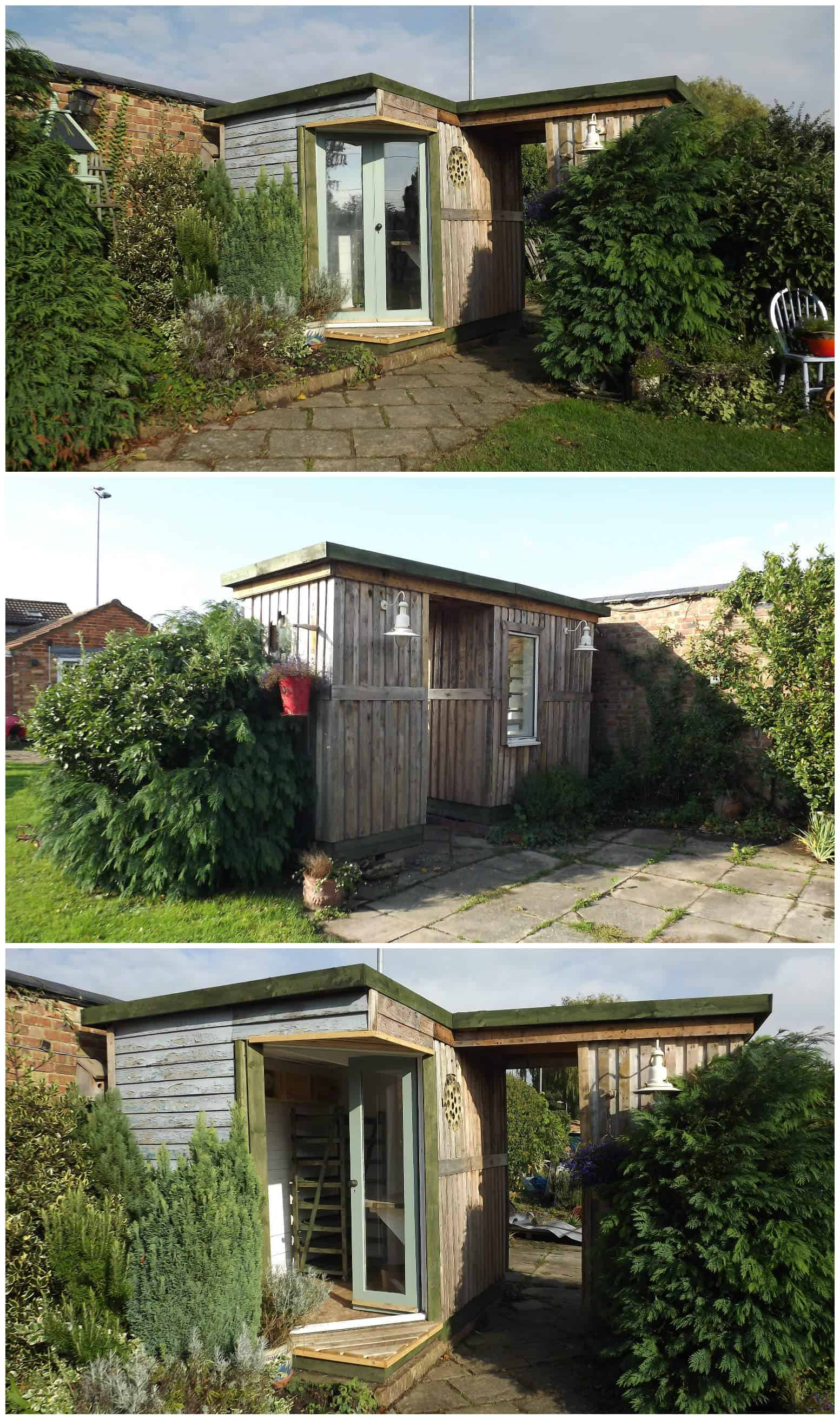 Garden Room Made Out Of 50 Repurposed Pallets • 1001 Pallets on Pallet Room  id=37739