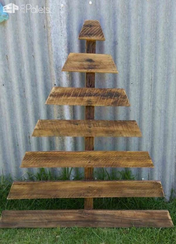 Recycled Pallet Christmas Tree 1001 Pallets