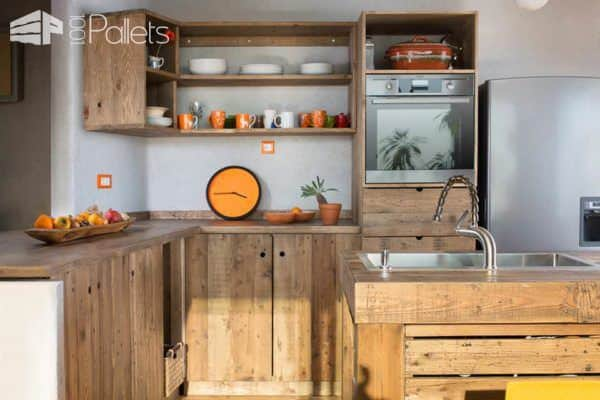 Kitchens Made Out Pallets