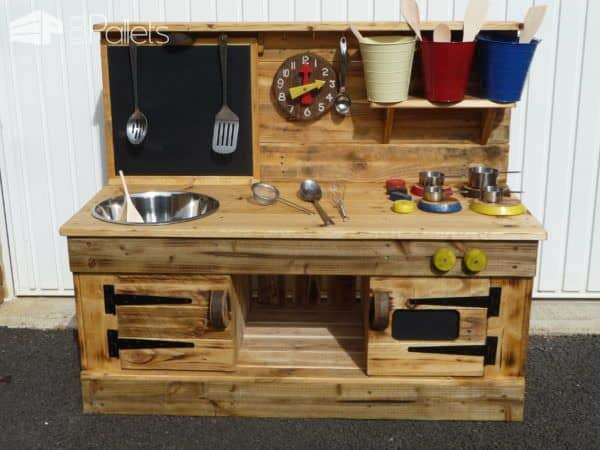 Pallet Educational Play Kitchens 1001 Pallets