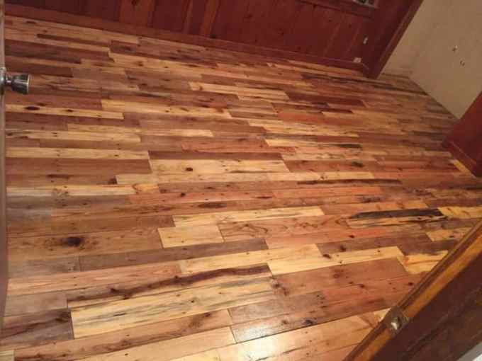 Pallet Wood Floors Two Ways     1001 Pallets