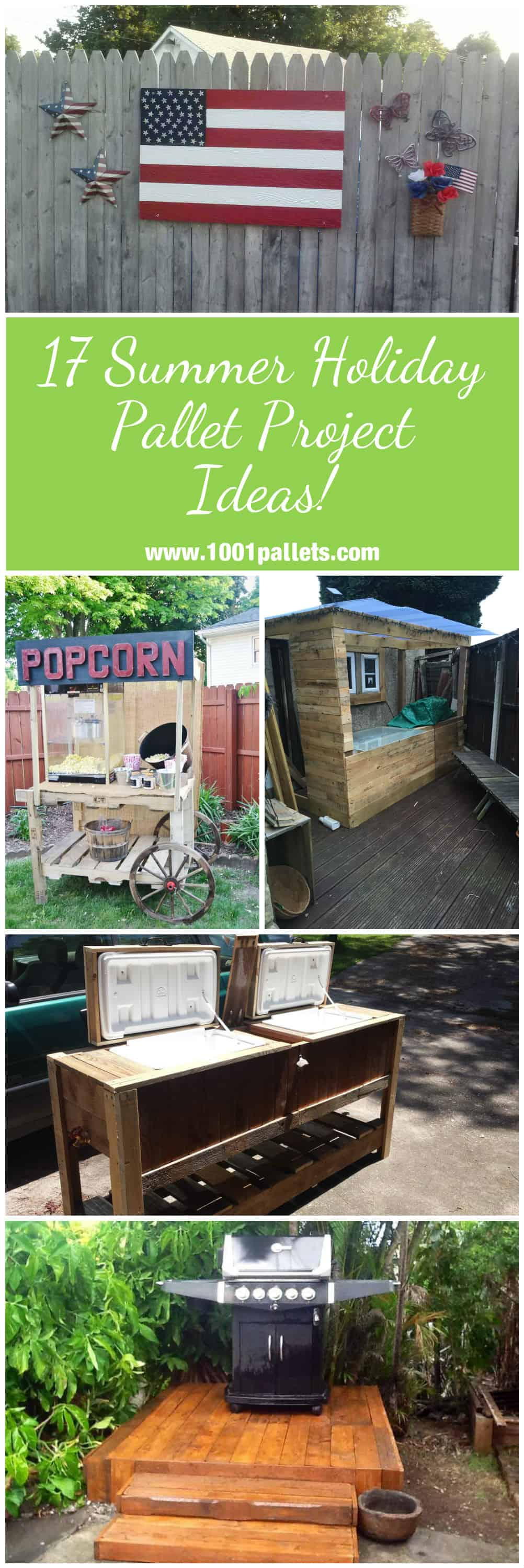 17 Summer Holiday Pallet Project Ideas 1001 Pallets